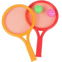 移动端:ZHIHUIYU智慧鱼颜色混发网球拍(823C)25*14cm+送2个球6.9元