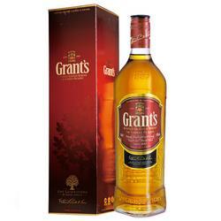 格兰(Grant s)洋酒格兰威三桶陈酿苏格兰威士忌700ml*3件