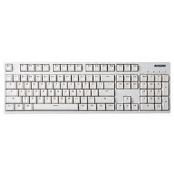 GANSS迦斯高斯GS104C104键原厂cherry轴背光机械键盘白色无光版青轴309元
