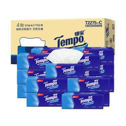 得宝Tempo纸巾抽纸面巾纸餐巾纸无香4层软抽18包 57.9元(需买2件,共115.8元,需用券)