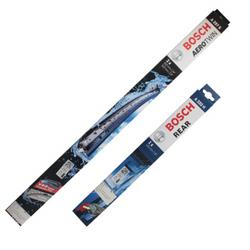 博世(BOSCH)雨刷器/雨刮器/雨刮片前后套装适用于(奥迪Q5/大迈X7)153元