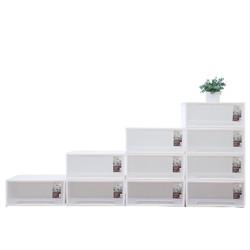 Citylong禧天龙禧天龙玩具零食收纳盒24L透明4个装抽屉式收纳柜儿童衣柜床头柜收纳箱大号43.5*45*19.5cm179