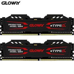 GLOWAY光威TYPE-α系列DDR42666MHz台式机内存条16GB(8GBx2)389元