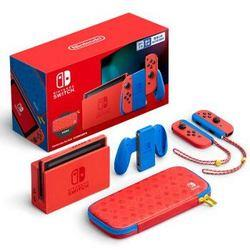 Nintendo任天堂Switch国行续航增强版马力欧限定版套装2099元