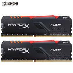 金士顿(Kingston)DDR4373316GB(8G×2)台式机内存条RGB灯条骇客神条Fury雷电系列799元