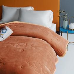 MIDOHOUSE铭都家纺加厚保暖双层法兰绒毛毯150*200cm125元包邮