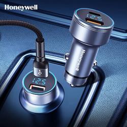霍尼韦尔Honeywell车载充电器PD45W点烟器快充版通用苹果华为小米手机平板Type-C/USB-A插头HZDE2 59.9元(需用券)