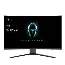 ThundeRobotQ27H16527英寸2KVA显示器(2560×1440、165Hz、1500R、1ms)1999元