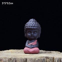 紫砂茶宠大号如来佛主小和尚沙弥小佛像11.8元