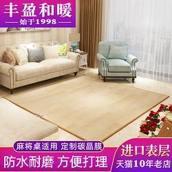 丰盈和暖碳晶电热地垫麻将桌暖脚垫移动取暖毯电热地毯200*2001171元
