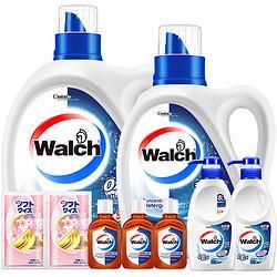 Walch威露士抗菌有氧洗衣液组合套装8.18斤49.9元