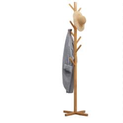 KAT&CO实木落地挂衣架148cm特价款14.8元