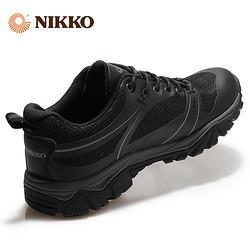 Nikko日高防水登山鞋男防水防滑徒步鞋女户外运动鞋爬山透气39/40268元