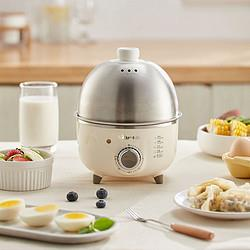 小熊煮蛋器自动断电家用迷你蒸蛋器小型炖蛋蒸蛋羹不锈钢定时神器69元