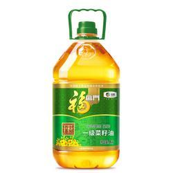 福临门食用油非转基因压榨一级菜籽油5L中粮出品72.9元