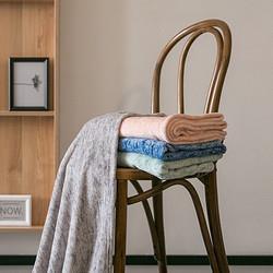 网易严选法兰绒午睡盖毯便携办公室午休披肩夏季空调被毯子沙发毯29.9元