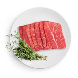 纽澳阳光(ANSSUNSHINE)和牛M5原切雪花牛肉片300g雪花均匀口感香嫩核酸已检测*3件93.7元(合31.23元/件)