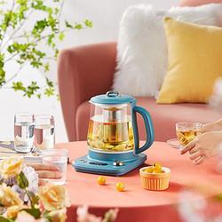 小熊养生壶全自动玻璃家用多功能办公室电热烧水小型煮茶器花茶壶199元