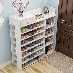 鞋架简易多层收纳鞋柜家用经济型实木色置物架子门口大容量省空间138元