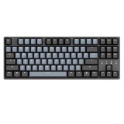 DURGOD杜伽TAURUSK32087键有线机械键盘深空灰Cherry银轴无光 459元