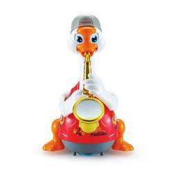汇乐玩具538C萨克斯摇摆鹅红色充电版早教益智玩具儿童宝宝婴儿玩具唱歌跳舞学说话新年礼物+凑单品100元