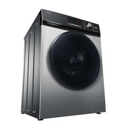Leader统帅海尔出品10公斤洗烘一体滚筒洗衣机全自动除螨除菌空气洗快乐小鸡@G1012HB76S1899元