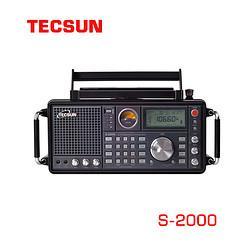 Tecsun/德生S-2000调频/中波/短波-单边带/航空波段无线电收音机1600元