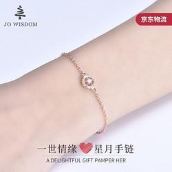 JOWISDOMS925银手链手环