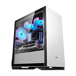 AMD四代APUR54650G商用办公家用游戏设计台式机全套DIY整机 2893元