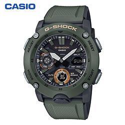 卡西欧(CASIO)手表G-SHOCK系列防震防水高亮度LED双重照明男士手表GA-2000-3A 916元