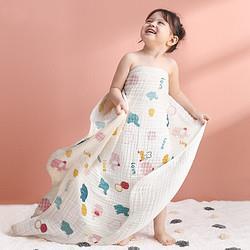 小狮王辛巴(simba)小象塞恩纯棉加厚婴儿浴巾超柔吸水新生6层纱布盖毯被宝宝儿童洗澡浴袍*3件 160.2元(合53.4元/件)