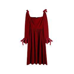 姿态玫瑰N8018女士法式连衣裙 低至121.5元包邮(需用券)