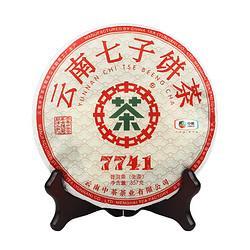 中粮中茶牌云南普洱茶7741澜沧高山乔木生茶饼2020年357g/饼*3件 302.8元(合100.93元/件)