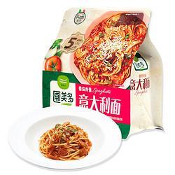 圃美多(Pulmuone)番茄肉酱意大利面1.3kg5人份家庭装意面番茄酱直身面方便菜    58.8元