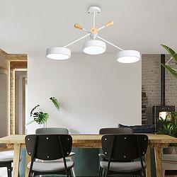 北欧马卡龙现代简约LED吊灯创意餐厅灯艺术圆形书房阳台吧台灯具358.33元包邮