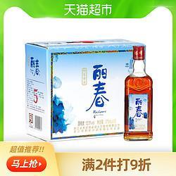 塔牌黄酒丽春五年特型黄酒375ml*6瓶5年基酒立春小瓶装泡阿胶*2件    181.6元(合90.8元/件)