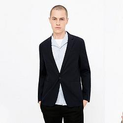 杰克琼斯男装休闲商务棉麻薄款西服西装外套218308506    160元