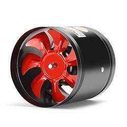 排气扇管道风机排风扇厨房换气扇6寸强力油烟抽风机卫生间150mm33元(需用券)