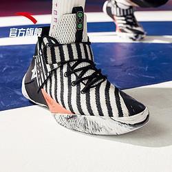 安踏篮球鞋男汤普森2021新品春夏季要疯3战靴A-Shockkt运动鞋低帮球鞋子 309元(需用券)