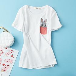 LaChapelle拉夏贝尔2724202J501女士T恤 34元(需用券)