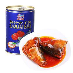 GuLong古龙茄汁沙丁鱼425g 7.44