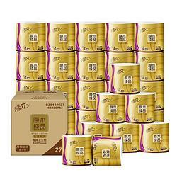 Breeze清风APP)卷纸原木金装4层180克卫生纸巾27卷(新老包装随机发货)(整箱销售)51.6元(需买2件,共103.2元)