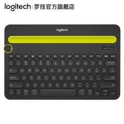 Logitech罗技K480多设备蓝牙键盘IPAD键盘手机键盘139元