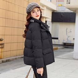 冬季百搭棉服棉衣外套女2020韩版立领加厚舒适保暖短款面包服上衣149元