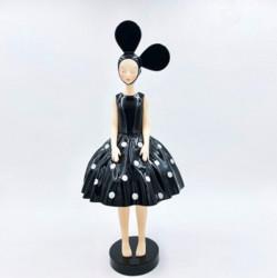 构得艺术构得《然ran》艺术限量版雕塑客厅装饰品树脂摆件黑白波点 2180元