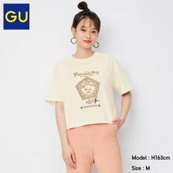 GU极优GU333344哈利波特联名款女士印花短袖T恤 74