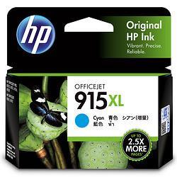 惠普(HP)915XL原装墨盒适用hp8020/8018打印机xl大容量青色墨盒115元