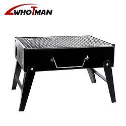 沃特曼whotman烧烤炉烧烤架烧烤箱户外便携木炭长条烤肉架家用自驾游装备WK283339.9元