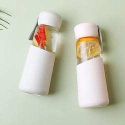 NOME/诺米杯子防烫玻璃杯ins便携透明杯子耐热隔热随手杯女简约10元(需用券)