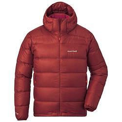 montbell20冬季新品户外男士连帽高品质800蓬鹅绒羽绒服轻便保暖舒适外套1101606辣椒红PAPRIXL 1919.2元